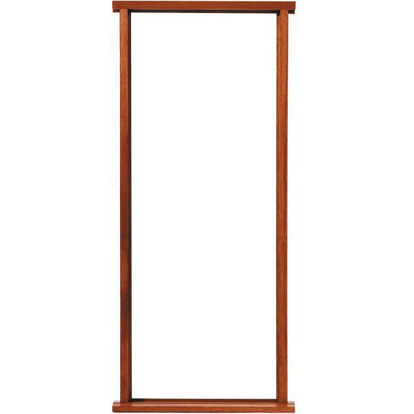 External hardwood door frame for Wooden back door and frame