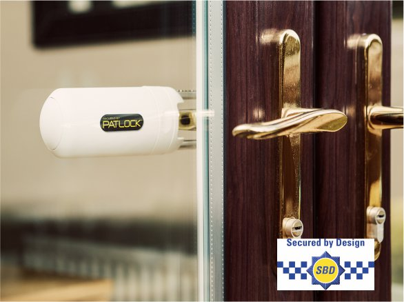 Patock Internal French and Conservatory Double Door Lock